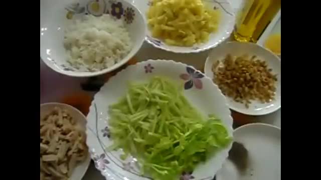 سالاد کاردینال - آشپزی از اینجا تا آنجا -Cardinal salad