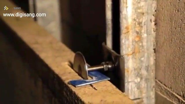 آموزش خشکه چینی سنگ نما (نصب سنگ نما بدون ملات)