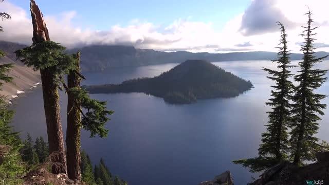 طبیعت بکر دریاچه کریتر آمریکا