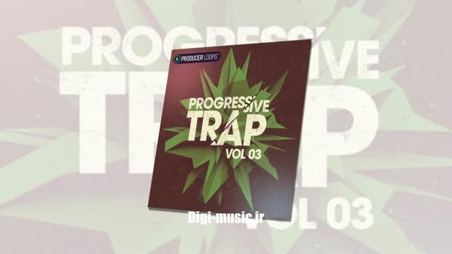 دانلود صداهای ترپ موزیک Producer Loops Progressive Trap Vol 3