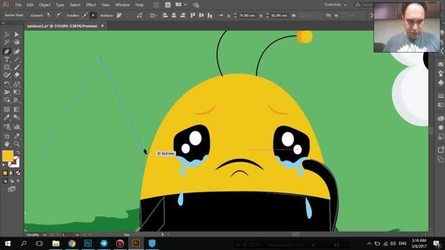 تغییرات Adobe illustrator 2017 - قسمت سوم - سعید طوفانی