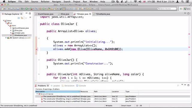 9- استفاده کامل از شمارنده ها یا Enum در جاوا Java