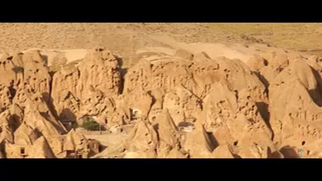روستای کندوان با معماری کندویی در آذربایجان شرقی