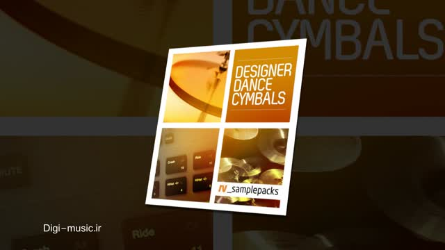 دانلود کرش درام RV samplepacks Designer Dance Cymbals WAV