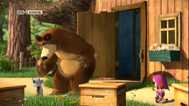 انیمیشن جذاب ماشا و میشا در 118File.Com