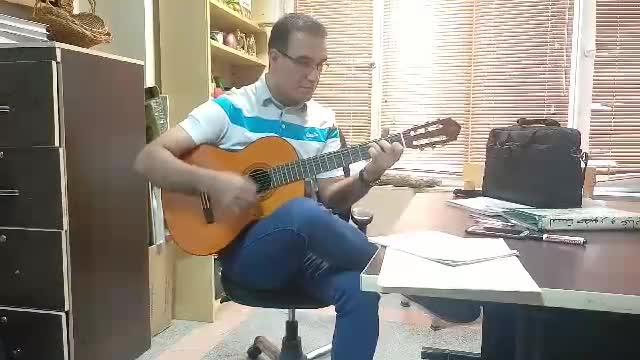مجید کلامی اجرای گیتار (شال)