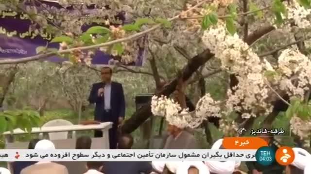Iran Zoshk village, Cherry blossom celebration جشن شکوفه های گیلاس روستای زشک ایران