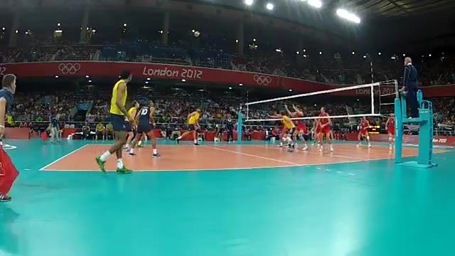 ویدیوی فنی - فینال المپیک 2012 (برزیل - روسیه) - اکشن 5