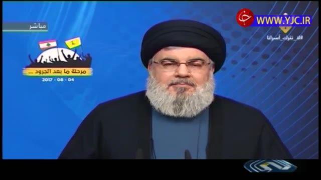 قدردانی سیدحسن نصرالله از حامیان جبهه مقاومت