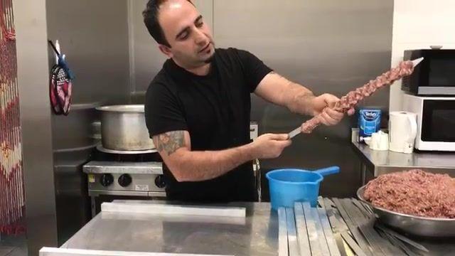 آموزش سیخ کردن کوبیده و روش صحیح پخت