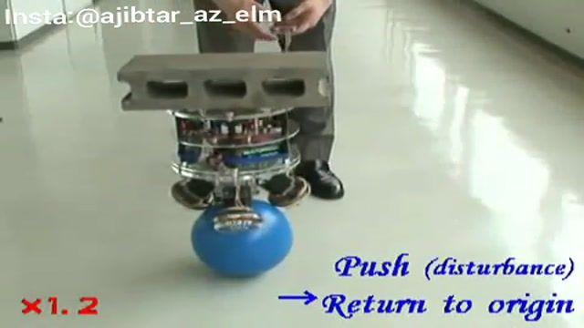 ساخت رباتی با تعادل بسیار بالا