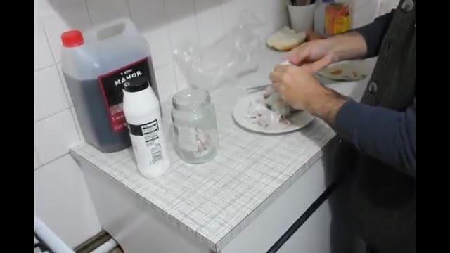 How To Make Garlic Pickle - آموزش درست کردن سیر ترشی