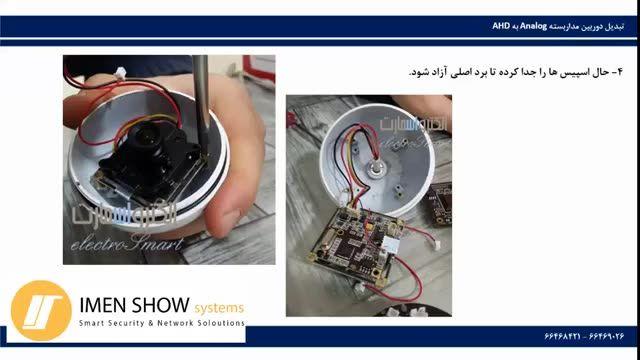 تبدیل دوربین مداربسته آنالوگ به AHD