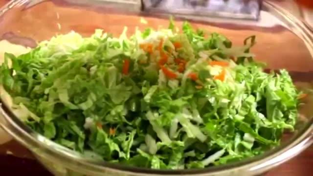 آموزش پیراشکی گوشت و سبزیجات