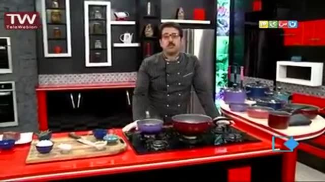 آموزش آشپزی آسان- استیک با سس قارچ قهوه ای