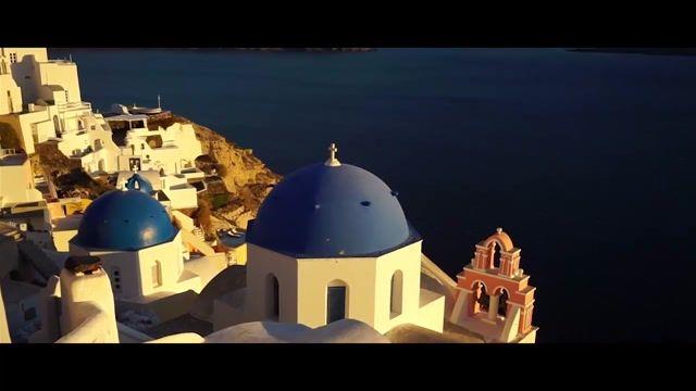 نگاهی به جزیرهی سانتورینی یونان - سفر به قلب زیبایی های یونان