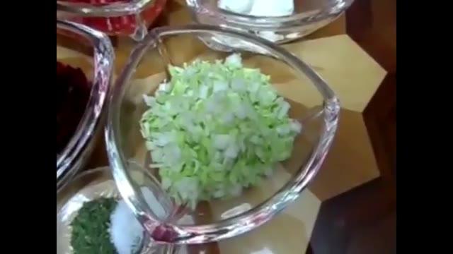 سالاد انار- آشپزی از اینجا تا آنجا با عذرا - سالاد زمستانی مخصوص شب چله