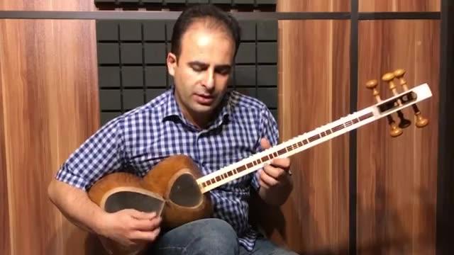 درس 55 آهنگی در ر مینور کتاب هنرستان موسیقی روح الله خالقی جلد 1   نیما فریدونی تار