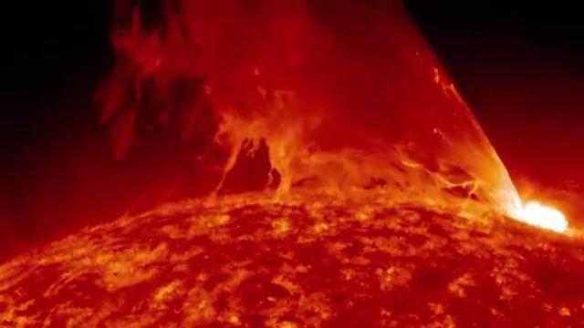 تصویر برداری از فوران عظیم خورشیدی توسط رصدخانهی دینامیک خورشیدی