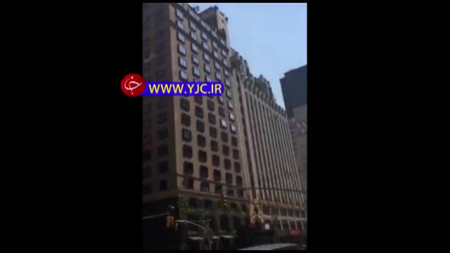 اقدام به خودکشی یک زن از پشت بام هتلی در نیویورک