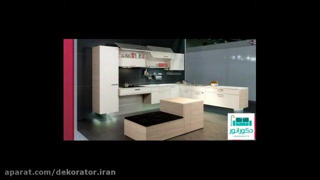 طراحی ایده های خلاقانه برای دکوراسیون کابینت آشپزخانه