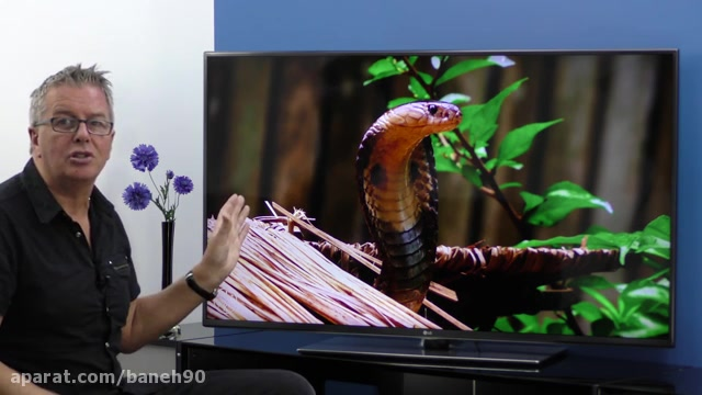 تلویزیون 55 اینچ 4k الجی مدل LF652V