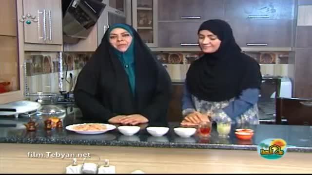 طرز تهیه جوجه کباب زعفرانی (به زبان عربی) شبکه خوزستان