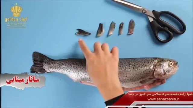 انواع برش ماهی