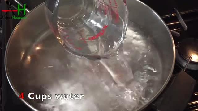 How to make Qaemaq Chai[طرز و تهیه قیماق چای]