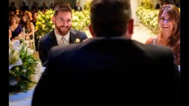 عکس هایی دیدنی از عروسی مسی