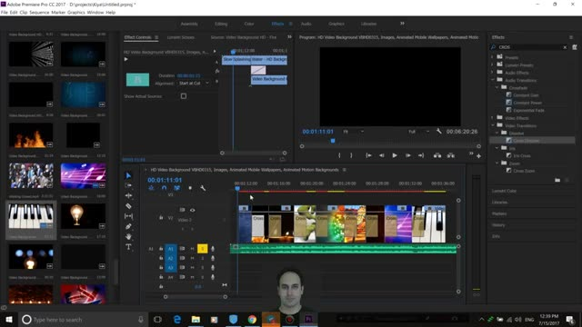 27- تغییر یکباره ترنزیشن ها  در Adobe Premiere - سعید طوفانی