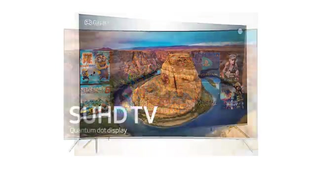 تلویزیون 55 اینچ ks8500 سامسونگ