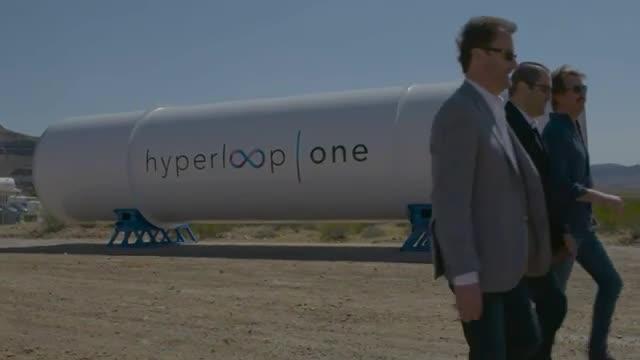 تکنولوژی هایپرلوپ -  سیستم پیشران وسیله حمل و نقل