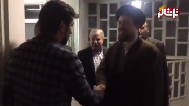 تماشاگر // فیلم اختصاصی دیدار پروین و پرسپولیسی ها با حجت الاسلام سید حسن خمینی