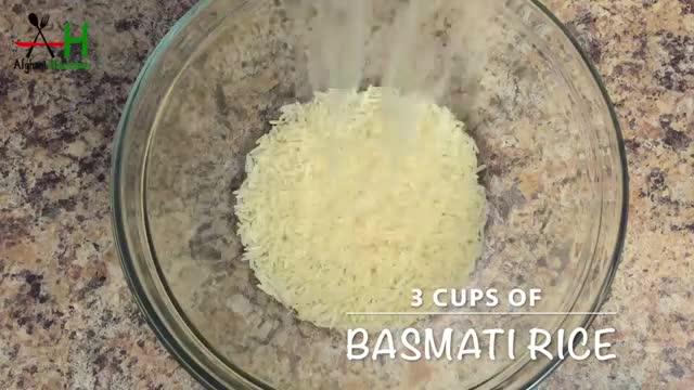 How to make Afghani Mung Rice (Mash palou)[طرز و تهیه ماش پلو]