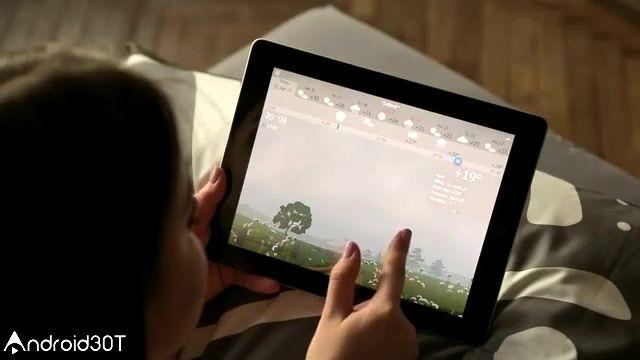 معرفی برنامه وضعیت آب و هوا  – YoWindow Weather