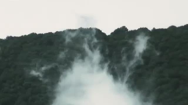 جنگل ابر شاهرود جنگلی در تصرف ابرها