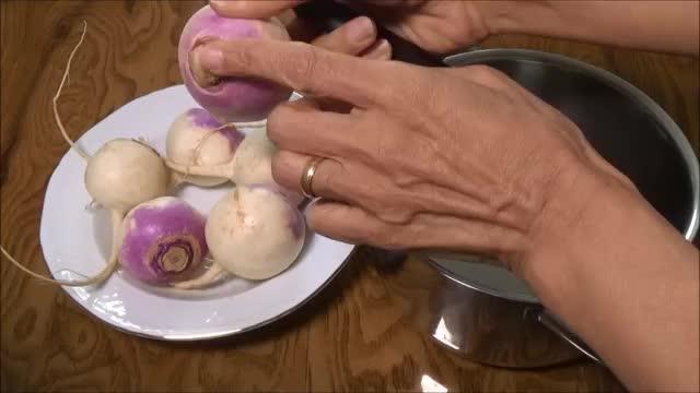 روش پختن شلغم How to cook turnip | Shalgham