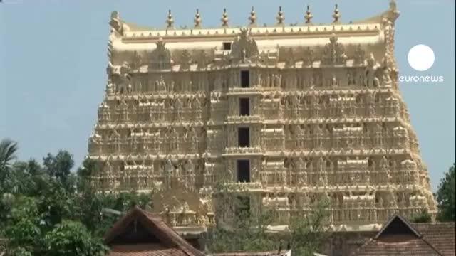 کشف گنج در معبدی در جنوب هند
