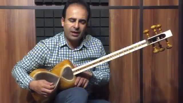 درس 53 کتاب هنرستان موسیقی روح الله خالقی جلد 1 . نیما فریدونی تار.mp4
