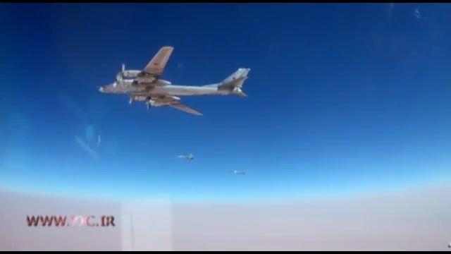 حمله هوایی روسیه به مواضع داعش