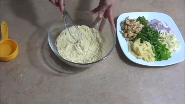 Vegetable Pakora طرز تهیه پکور سبزیجات