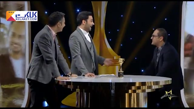 شوخی جنجالی و منشوری رامبد جوان با عادل فردوسی پور در برنامه زنده سه ستاره!!!