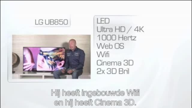 تلویزیون 4K ال جی سری UB850 موجود در فروشگاه دیجی بانه