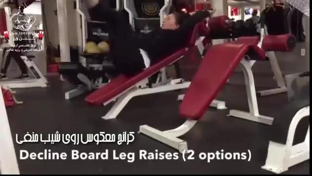 تمریناتی برای تقویت عضلات شکم