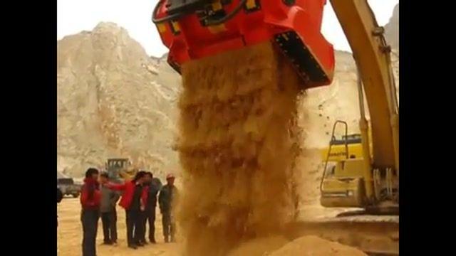 سرند پاکتی - باگت سنگ شکن - سرند و سنگ شکن هیدرولیکی و قابل حمل - تولید ایران