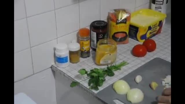 How To Make Easy Lentil Dhal - آموزش درست کردن خوراک دال