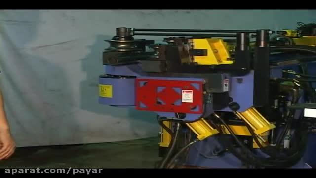 لوله خم کن CNC سایز 65. 2 طبقه