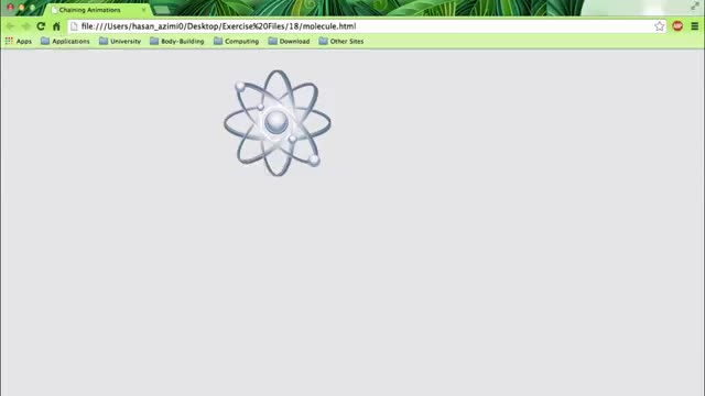 18- انیمیشن چرخش و اندازه در CSS3