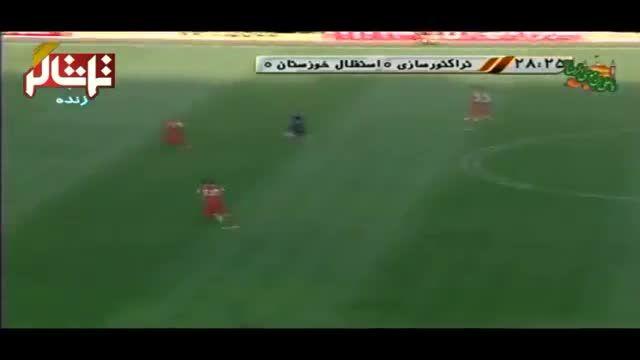 تماشاگر //  خلاصه بازی: تراکتورسازی 0-0 استقلال خوزستان